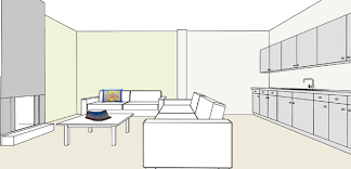 what paint color to pick for my open plan living room kitchen