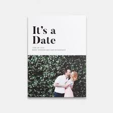 save the date in it s a date photo card artifact uprising