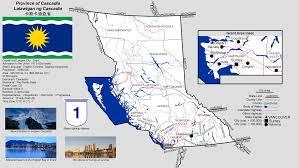 Montana Time Zone Map by The U S State Of Cascadia Alternate History Imaginarymaps