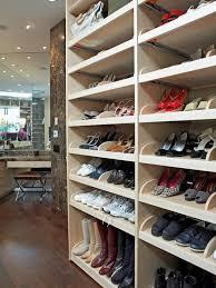 Slanted Wall Bedroom Closet Custom Closet Slanted Shoe Shelves U2013 Shoes Design