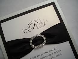and black wedding invitations amazing ivory and black wedding invitations iloveprojection