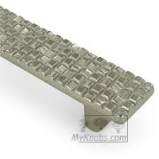 schaub cabinet pulls and knobs schaub select italian design mosaic 12 5 8 inch centers pull in