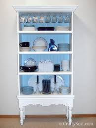 how to arrange dishes in china cabinet plain bookshelf diy fancy china cabinet crafty nest