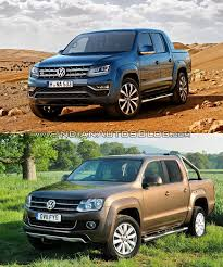 volkswagen pickup 2016 2016 vw amarok vs 2010 vw amarok old vs new cars daily