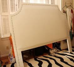 Easy Upholstered Headboard Running From The Law Diy Upholstered Headboard