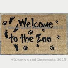 please excuse the mess our children are making memories doormat