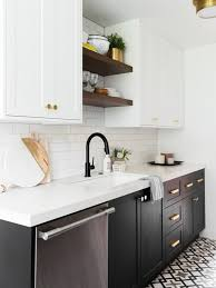 two tone kitchen cabinets white and grey two tone cabinets are the commitment phobe s answer to