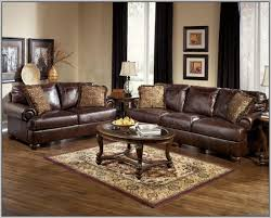 fabric and leather sofa fantastic leather sofa and loveseat set walnut fabric and faux