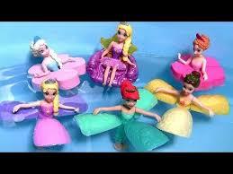 The Little Mermaid Bathroom Set Disney Princess Petal Float Rapunzel Belle Ariel Water Palace