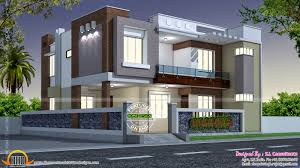 Floor Plan Front View by Awesome Modern Indian Home Design Front View Contemporary