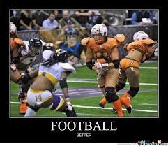 Football Player Meme - better football by ben meme center