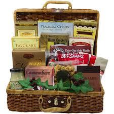 salmon gift basket bounty of flavor gourmet food picnic gift basket of