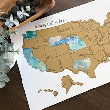 map usa for s day sale watercolor scratch map united
