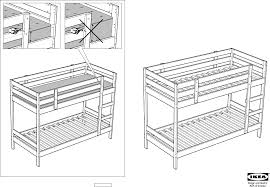 How To Assemble A Bed Frame Ikea Beds Hemnes Bunk Bedframe Pdf Assembly Free