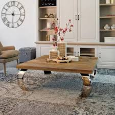 curved wood side table luxe kensington reclaimed wood curved coffee table console tables