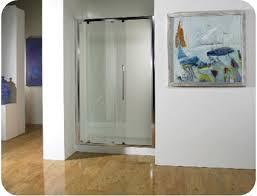 Mirage Shower Doors Mirage Bislider Frameless Shower Door With Framed Enclosure Semi