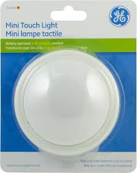 Battery Operated Lights For Pictures by Ge Mini Tap Light Round Battery Operated 1 Pk Walmart Canada