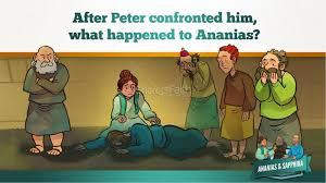 acts 5 ananias and sapphira kids bible stories kids bible stories