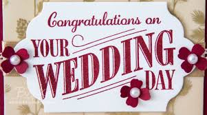wedding day congratulations stin up uk feeling crafty bekka prideaux stin up uk
