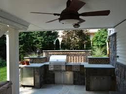 outdoor kitchen kitchen outdoor design idea with round above