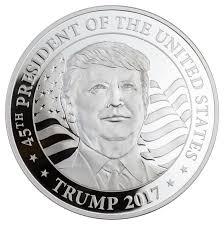 Guinea Ecuatorial Flag 2017 Equatorial Guinea Donald Trump 1 Oz Silver Proof Coin Gem