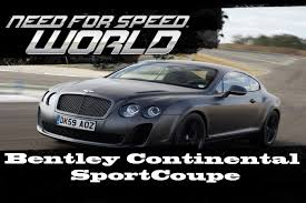 bentley sport coupe test need for speed world 2 test bentley continental