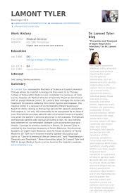 Liaison Resume Sample Medical Director Resume Samples Visualcv Resume Samples Database