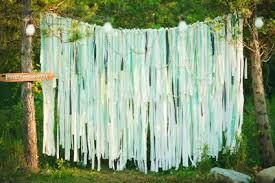 ribbon backdrop my next diy project ribbon fabric backdrop browncurls s blue