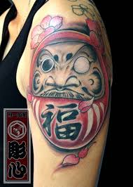 simple calf tattoos 29 simple daruma doll tattoos