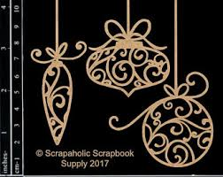 chipboard ornaments etsy