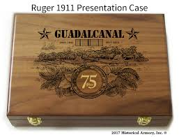 anniversary engraving guadalcanal limited edition with special 75th anniversary