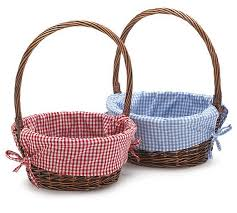 personalized wicker easter baskets personalized handmade easter gift basket for kids family