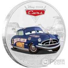 cars disney lightning mcqueen cars disney 1 oz silver coin 2 niue 2017
