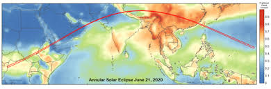 China Eclipses Europe As 2020 Oman India Annular Solar Eclipse Of 2020 June 21 Xavier Jubier