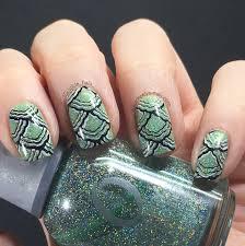 glitter mermaid tail nail art mint green keely u0027s nails