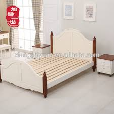 malaysia style solid wood bed frame strong slats kits wooden bed