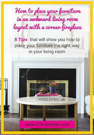 Corner Fireplace Living Room Furniture Placement - q and a with christine awkward living room layout with a corner