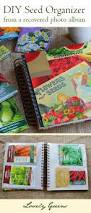 Fabric Photo Album Organize Seed Packets In A Photo Album Lovely Greens Garden