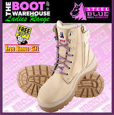 steel blue womens boots nz s work and safety boots ebay