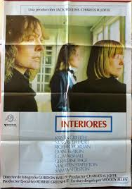 Interiors Woody Allen Interiors Poster 1 The Woody Allen Pages