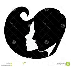 best hd silhouette head man woman profile vector image file free
