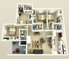 4 bedroom floor plans single story 4 bedroom floor plan single