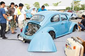 volkswagen vintage cars bangkok thailand february 17 volkswagen retro vintage car