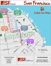 san francisco hotel map pdf san francisco cable car guide