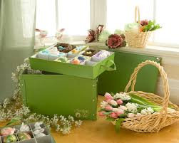 easter decorating trend inspires creative solution to organization