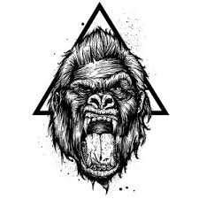 gorilla tattoo meaning