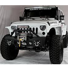 jeep wrangler rock lights jeep wrangler jk stubby front bumper with fog lights