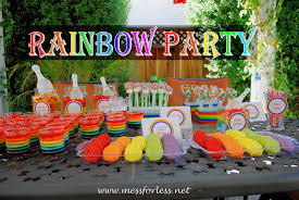 Rainbow Themed Birthday Favors by Diy Rainbow Ideas Rainbow Birthday Rainbow And