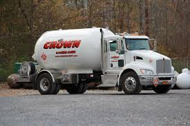 our six crown lp gas delivery trucks are on the road 7 days a week