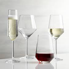 tour wine glasses crate and barrel